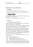 Giáo trình Tin Học: Thủ thuật học Excel