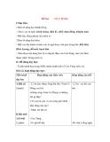 Giáo án Tập đọc lớp 3: Đề bài: CỬA TÙNG.