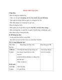 Giáo án Tập đọc lớp 3: Đề bài: NHỚ VIỆT BẮC.
