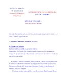 Tài liệu Pháp văn: KỲ THI OLYMPIC TRUYỀN THỐNG 30/4 MÔN PHÁP VĂN KHỐI 11