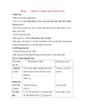 Giáo án Tập đọc lớp 3: Đề bài: CHÚ SẺ VÀ BÔNG HOA BẰNG LĂNG