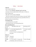 Giáo án Tập đọc lớp 3: Đề bài: ÔNG NGOẠI.