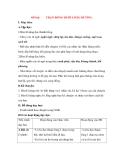 Giáo án Tập đọc lớp 3: Đề bài: TRẬN BÓNG DƯỚI LÒNG ĐƯỜNG.