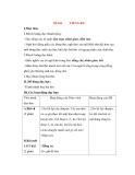 Giáo án Tập đọc lớp 3: Đề bài: TIẾNG RU