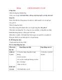 Giáo án Tập đọc lớp 3: Đề bài: CHÕ BÁNH KHÚC CỦA DÌ