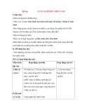 Giáo án Tập đọc lớp 3: Đề bài: LUÔN NGHĨ ĐỀN MIỀN NAM