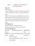 Giáo án Tập Làm Văn Lớp 3: Đề bài: NGHE KỂ : TÔI CÓ ĐỌC ĐÂU