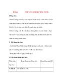 Giáo án Tập Làm Văn Lớp 3: Đề bài: NÓI VỀ CẢNH ĐẸP ĐẤT NƯỚC