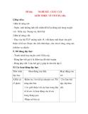 Giáo án Tập Làm Văn Lớp 3: Đề bài: NGHE KỂ : GIẤU CÀY GIỚI THIỆU VỀ TỔ EM