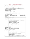 Giáo án Tự nhiên xã hội lớp 3: Đề bài: VỆ SINH THẦN KINH