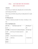 Giáo án Tập Làm Văn Lớp 3: Đề bài: NÓI VỀ ĐỘI THIẾU NIÊN TIỀN PHONG
