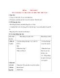 Giáo án Luyện từ và dấu câu lớp 3: Đề bài: NHÂN HOÁ ÔN CÁCH ĐẶT VÀ TRẢ LỜI CÂU HỎI: NHƯ THẾ NÀO ?