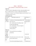 Giáo án Luyện từ và dấu câu lớp 3: Đề bài: NHÂN HOÁ ÔN CÁCH ĐẶT VÀ TRẢ LỜI CÂU HỎI : VÌ SAO?