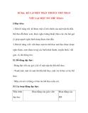 Giáo án Tập Làm Văn Lớp 3: Đề bài: KỂ LẠI MỘT TRẬN THI ĐẤU THỂ THAO VIẾT LẠI MỘT TIN THỂ THAO.