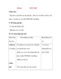 Giáo án Tập Làm Văn Lớp 3: Đề bài: VIẾT ĐƠN