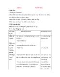 Giáo án Luyện từ và dấu câu lớp 3: Đề bài: NHÂN HOÁ
