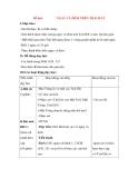 Giáo án Tự nhiên xã hội lớp 3: Đề bài: NGÀY VÀ ĐÊM TRÊN TRÁI ĐẤT