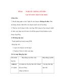 Giáo án Tập Làm Văn Lớp 3: Đề bài: NGHE KỂ : KHÔNG NỠ NHÌN
