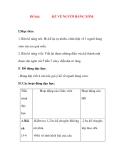 Giáo án Tập Làm Văn Lớp 3: Đề bài: KỂ VỀ NGƯỜI HÀNG XÓM.