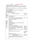 Giáo án Tự nhiên xã hội lớp 3: Đề bài: VỆ SINH THẦN KINH.