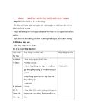 Giáo án Tự nhiên xã hội lớp 3: Đề bài: KHÔNG CHƠI CÁC TRÒ CHƠI NGUY HIỂM.