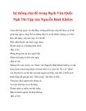 hệ thống chủ đề trong Bạch Vân Quốc Ngữ Thi Tập của Nguyễn Bỉnh Khiêm_4