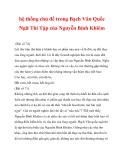 hệ thống chủ đề trong Bạch Vân Quốc Ngữ Thi Tập của Nguyễn Bỉnh Khiêm_7