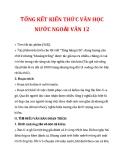 TỔNG KẾT KIẾN THỨC VĂN HỌC NƯỚC NGOÀI VĂN 12_4
