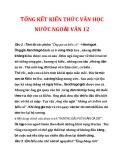 TỔNG KẾT KIẾN THỨC VĂN HỌC NƯỚC NGOÀI VĂN 12_5