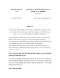 Thông tư số 24/2011/TT-BCT