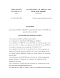 Quyết định 29/2011/QĐ-UBND