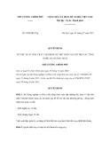 Quyết định số 1070/QĐ-TTg
