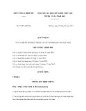 Quyết định số 37/2011/QĐ-TTg
