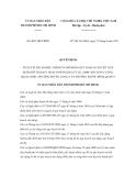 Quyết định số 3061/QĐ-UBND