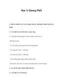 Đọc X Quang Phổi