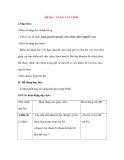 Giáo án Tập đọc lớp 3: Đề bài: CÙNG VUI CHƠI.