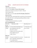 Giáo án Tập đọc lớp 3: Đề bài: LỜI KÊU GỌI TOÀN DÂN TẬP THỂ DỤC