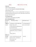 Giáo án Tập đọc lớp 3: Đề bài: TRÊN CON TÀU VŨ TRỤ