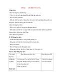 Giáo án Tập đọc lớp 3: Đề bài: BỘ ĐỘI VỀ LÀNG.