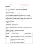 Giáo án Tập đọc lớp 3: Đề bài: CHÚ Ở BÊN BÁC HỒ