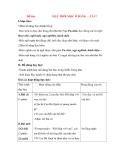 Giáo án Tập đọc lớp 3: Đề bài: MẶT TRỜI MỌC Ở ĐẰNG …TÂY
