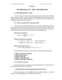 Bài giảng công nghệ CAD/CAM: Chương 3.MÔ HÌNH HOÁ CÁC THỰC THỂ