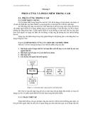 Bài giảng công nghệ CAD/CAM: Chương 5: PHẦN CỨNG VÀ PHẦN MỀM TRONG CAD