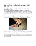 Bài thuốc gia truyền 7 đời lạ lùng ở chốn non cao