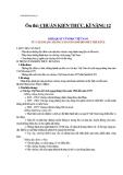 CHUẨN KIẾN THỨC, KĨ NĂNG 12: KHÁI QUÁT VĂN HỌC VIỆT NAM