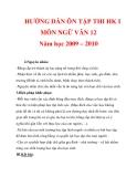 HƯỚNG DẪN ÔN TẬP THI HK I MÔN NGỮ VĂN 12 Năm học 2009 – 2010_7