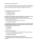 78 Câu hỏi trắc nghiệm phân tích thiết kế hệ thống