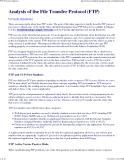 phân tích giao thức FTP