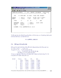 Thiết kế thí nghiệm và xử lý kết quả bằng phần mềm thống kê IRRISTAT part 10