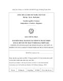 MẪU GIẤY CHỨNG NHẬN BẢO HIỂM HOẶC BẢO ĐẢM TÀI CHÍNH VỀ TRÁCH NHIỆM DÂN SỰ ĐỐI VỚI TỔN THẤT Ô NHIỄM DẦU NHIÊN LIỆU